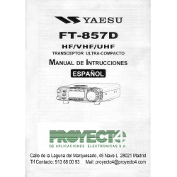Manual de Instrucciones FT-857D