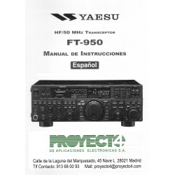 Manual de Instrucciones FT-950