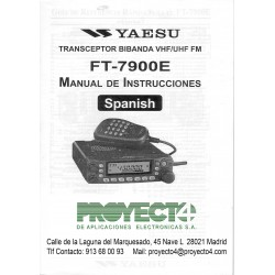 Manual de instrucciones FT-7900