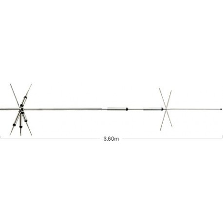 Antena HF Base Diamond CP-5HS