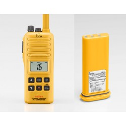 Walkie VHF marino IC-GM1600E PACK