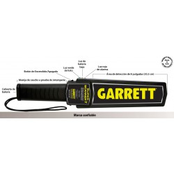 Detector de metales manual Garrett Super Scanner V