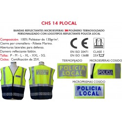 Chaleco Policia local CHS 14